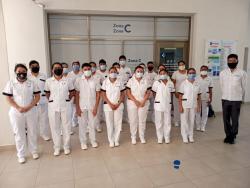 ESTUDIANTES DE ENFERMERÍA INICIAN CICLOS CLÍNICOS EN HOSPITAL DE PLAYA DEL CARMEN