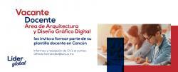 Tenemos vacantes docentes en Universidad de Oriente Cancún para Diseño Gráfico Digital y Arquitectura
